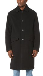 Our Legacy Soft Wool Car Coat Black