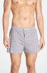 Nordstrom Men's Big And Tall Men's Shop Classic Fit Cotton Boxers Black Purple