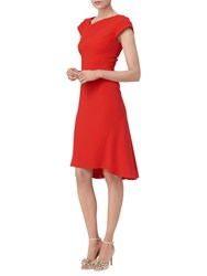 Lk Bennett L.K. Ire Fit And Flare Dress Aurora Red