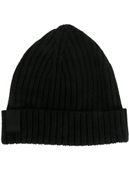 Oamc Ribbed Beanie Hat Black
