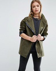 Goldie Existance Military Jacket Green