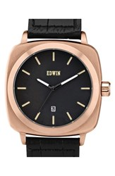 Men's Edwin 'Julius' Woven Strap Watch 44Mm