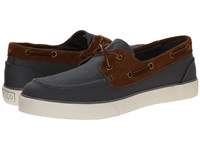 Polo Ralph Lauren Rylander Charcoal Grey New Snuff Brushed Twill Sport Suede Men's Shoes Navy