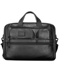 Tumi Alpha Tumi T Pass Medium Screen Laptop Slim Briefcase Black