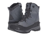 The North Face Chilkat Evo Zinc Grey Prussian Blue Men's Lace Up Boots