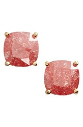 Women's Kate Spade New York Mini Square Stud Earrings Coral