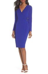 Dorothy Perkins Ring Tie Wrap Dress Cobalt