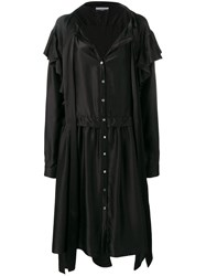 Faith Connexion X Nvds Oversized Shirt Dress Black