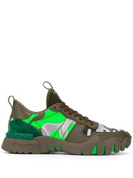 Valentino Camouflage Rockrunner Plus Sneakers 60