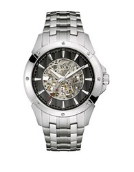 Bulova Stainless Steel Chronograph Silver