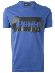 Dsquared2 'Chic Dan' Short Sleeved T Shirt Blue