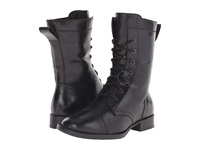 Born Livingston Black Full Grain Leather Women's Lace Up Boots
