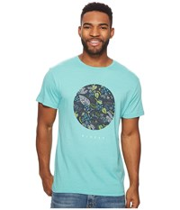 Vissla Night Crawler T Shirt Jade Heather T Shirt Blue
