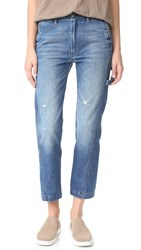 Vince Slouch Carpenter Jeans Heritage Wash