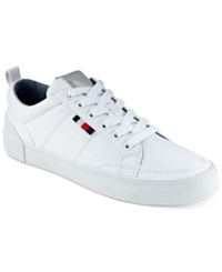 Tommy Hilfiger Women's Priss Lace Up Sneakers Women's Shoes White