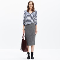 Madewell Pillar Midi Skirt