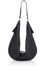 The Row Women's Sling Hobo Bag Black