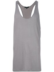 Unconditional Oversized Racer Back Vest Grey