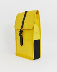 Rains Large Backpack Yellow