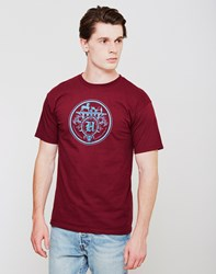 The Hundreds Carriage T Shirt Burgundy