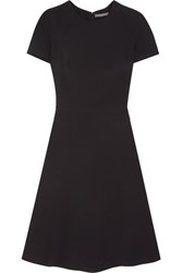 Alexander Mcqueen Cady Mini Dress Black