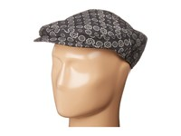 Dolce And Gabbana Printed Newsboy Hat Black