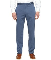 Perry Ellis Regular Fit Stretch Heather Twill Dress Pants Bay Blue Men's Dress Pants