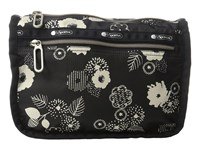 Le Sport Sac Everyday Cosmetic Case Autumn Floral Black Cosmetic Case