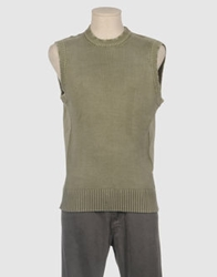Billabong Sweater Vests Military Green