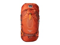 Osprey Atmos 50 Anti Gravity Cinnabar Red Backpack Bags Orange