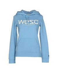 Wesc Topwear Sweatshirts Women Red