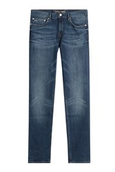 Michael Kors Collection Straight Leg Jeans Blue