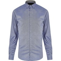 Vito River Island Mens Blue Shirt