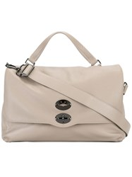 Zanellato Postina Shoulder Bag Nude Neutrals