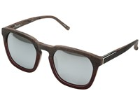 3.1 Phillip Lim Pl169c4sun Scratch Beige Maroon Silver Silver Fashion Sunglasses Clear