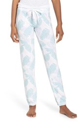 Pj Salvage Peachy Jogger Lounge Pants White