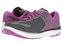 Brooks Pureflow 6 Anthracite Silver Purple Cactus Flower Women's Running Shoes Gray