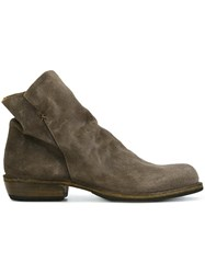 Fiorentini Baker 'Chill' Ankle Boots Grey