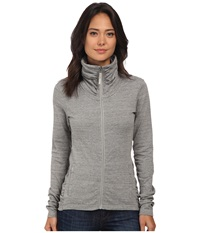 Bench Nolie B Zip Thru Grey Marl Women's Clothing Gray