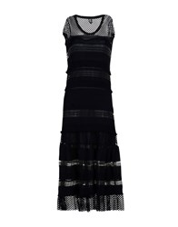 Tricot Chic Long Dresses Black