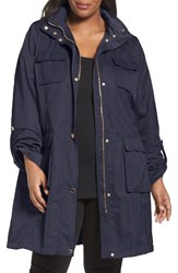 Tahari Plus Size Women's Monroe Utility Trench Coat