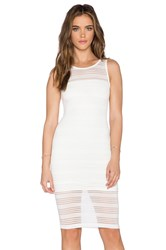 De Lacy Mya Mini Dress White