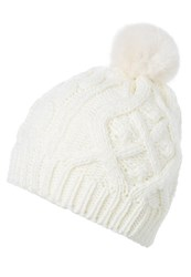 Gap Hat Snow Cap White