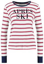 Abercrombie And Fitch Long Sleeved Top Red