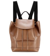 Marni Leather Backpack Brown