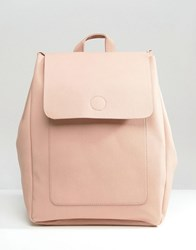 New Look Minimal Backpack Pink