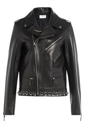 Thierry Mugler Leather Jacket Black