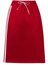 Champion Track Pencil Skirt Red