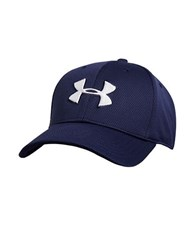 Under Armour Ua Blitzing Ii Stretch Fit Baseball Cap Navy Blitz