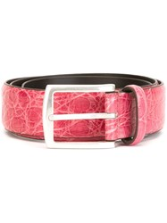 Andrea D'amico Buckle Belt Pink And Purple